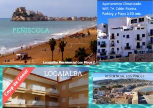 locajalbaCopia de 021 Apartamento Climatizado, Wifi, Tv por cable, Piscina, Parking y Playa à 50 mts.
