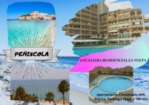 locajalba040 Apartamento Climatizado, Wifi, Piscina, Parking y Playa a 100 mts.