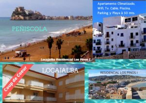 locajalba_021 Apartamento Climatizado, Wifi, Tv por cable, Piscina, Parking y Playa à 50 mts.