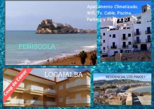 locajalba022 Apartamento Climatizado, Wifi, Tv por cable, Piscina, Parking y Playa à 50 mts.